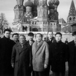 In moscow with Master Myung.