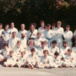 A class photo from the 80s